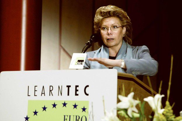 EU-Kommissarin Viviane Reding übte harsche Kritik am Schmusekurs der deutschen Politik gegenüber der Telekom