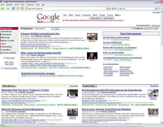 """Für """"Google News"""" gilt der AP-Deal nicht - den Sammeldienst sieht Google wie gehabt als """"faire Nutzung""""..."""