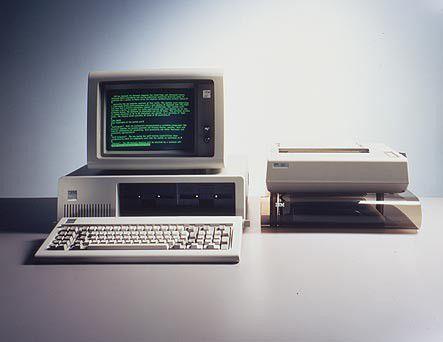 Wird übermorgen 25: Der erste PC (5150) von der IBM.