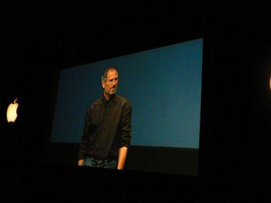 Die verbesserte iTunes-Software und die iTV-Pläne überraschten Jobs' Publikum am meisten.