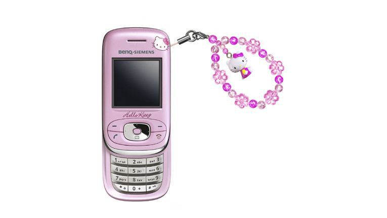 Hello Kitty-Handy von BenQ Siemens.