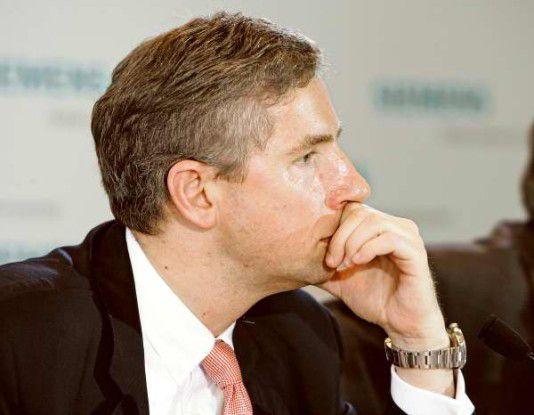 Um Schadensbegrenzung bemüht: Siemens-Chef Klaus Kleinfeld