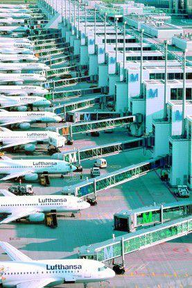 Der Münchener Flughafen (im Bild das Terminal 2) hat auch seine IT-Serviceprozesse ordentlich aufgestellt.