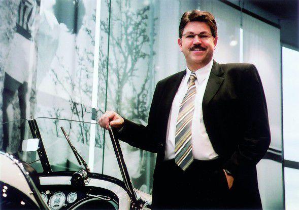 Klaus-Hardy Mühleck, IT-Chef der Volkswagen AG