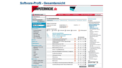 IT-Matchmaker Plus: COMPUTERWOCHE bietet Software-Evaluation