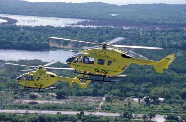 Sicherheit wird bei Eurocopter groß geschrieben – in der Hubschrauberproduktion wie in der IT.