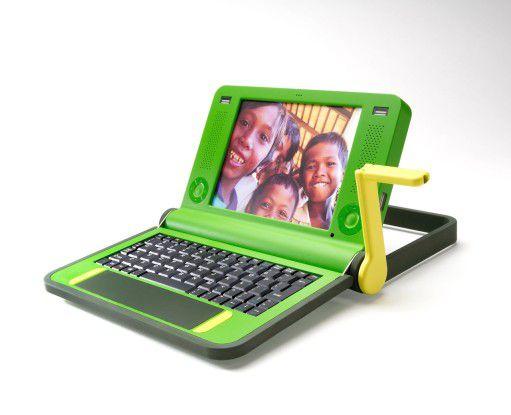 Nicholas Negroponte hat mit seinem grünen OLPC-Notebook als Erster den Markt der Entwicklungsländer adressiert.