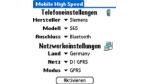 Automatische Internetverbindung mit dem Handy für Palm OS
