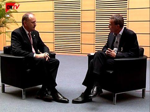 CW-Chefredakteur Christoph Witte im Gespräch mit Messechef Ernst Raue (Video, ca. fünf Minuten).
