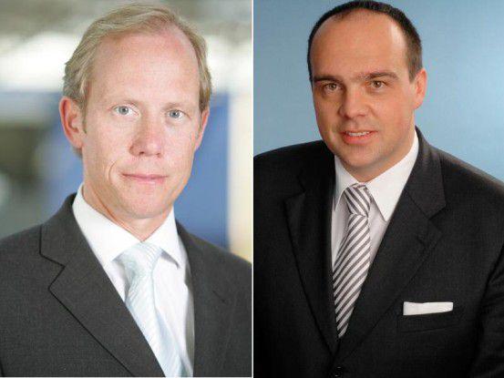 Joachim Brands und Hagen Rickmann sind gemeinsam die Geschäftsführer der EDS-Itellium GmbH.