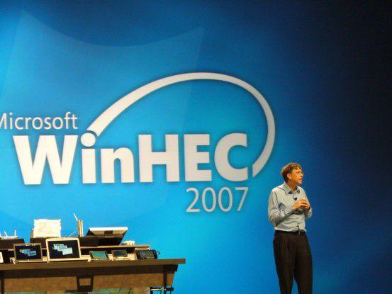 Es hat schon eine gewisse Tradition: Bill Gates fordert auf Microsofts Hardware-Entwicklerkonferenz Winhec die Hersteller zur intensiveren Treiberentwicklung auf.
