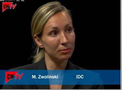 Michele Zwolinski prognostiziert den PC-Absatz in Deutschland und EMEA. Um das Video zu starten, klicken Sie in das Bild.