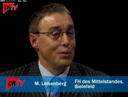 Manfred Leisenberg erklärt, wie sich das Web 2.0 in Unternehmen weiterentwickelt. Videolänge etw 4 Minuten.