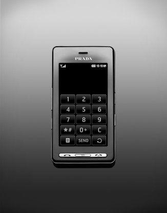 Apples Idee einer Benutzerführung per Touchscreen hatte beispielsweise LG schon bei seinem Designer-Handy Prada.