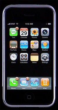 Objekt der Käuferlust und wert, Tag und Nacht vor Einkaufsläden zu campieren: das iPhone.