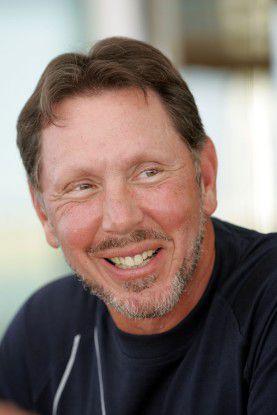 Oracle-Boss Lawrence Ellison hat gut lachen. Vorerst hat er die Nase vorn im Streit mit dem Erzrivalen SAP.