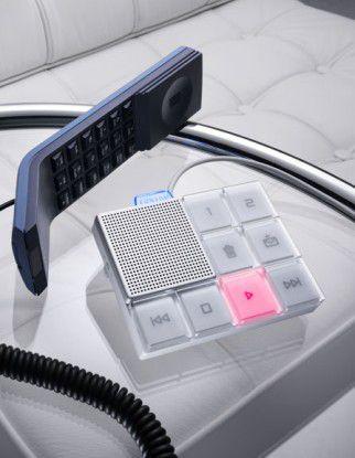 Schick ist das Ooma Hub zu allem VoIP-Überfluss auch noch (wenn's denn kein Mock-up ist)...