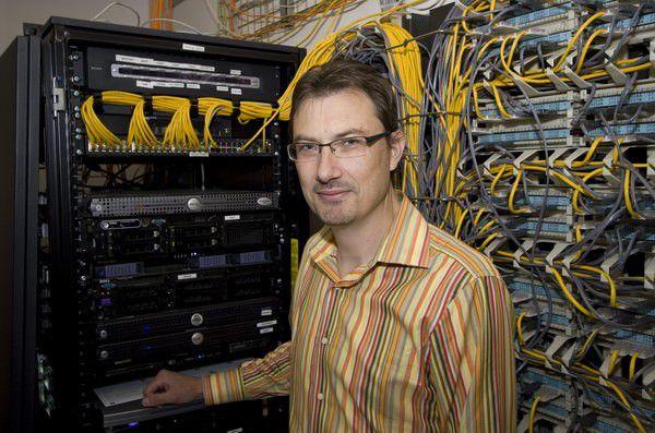 """Xensource-Mitgründer und -CTO Simon Crosby: """"Schlag für Schlag verbessern wir unsere Wettbewerbsfähigkeit gegenüber VMware."""""""