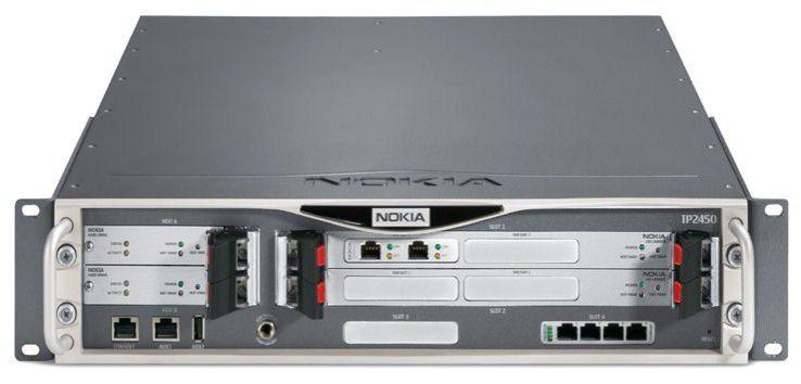 Nokia IP2450: Firewall- und VPN-Lösung für größere Unternehmensnetzwerke