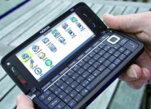 Moderne Smartphones wie das Nokia E90 treiben das Mobile Office an.
