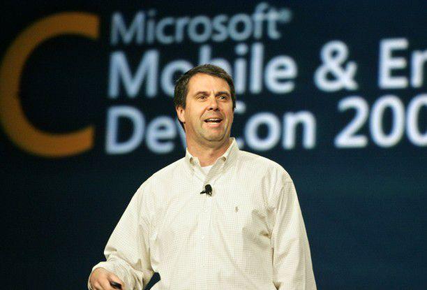 Robbie Bach (neulich auf der Mobile and Embedded DevCon von Microsoft)