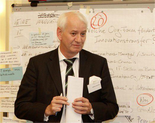 """Etwa mit einer """"Ideenolympiade"""" lässt sich laut Dietmar Schröder, CIO der Techniker Krankenkasse, ein Rahmen für Innovationen schaffen."""