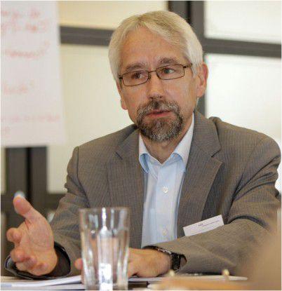 Norbert-Karl Falck von BASF IT Services: Wenn die IT-Organisation nicht funktioniert, genießen wir kein Vertrauen.