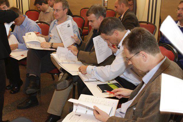 CIOs bei der Arbeit: Um das Thema Innovation ging es auf der Veranstaltung CIO Beyond in Zürich.