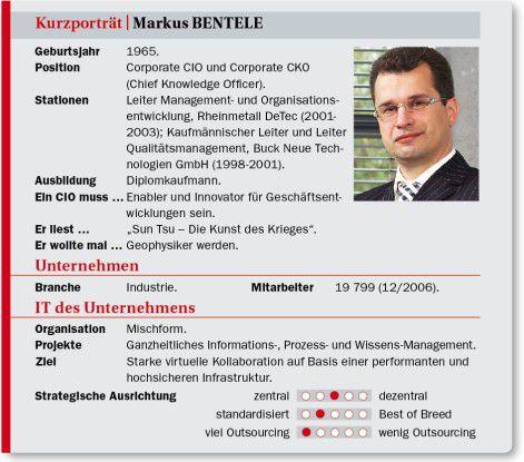 Markus Bentele auf einen Blick: Stationen, Projekte, Ansichten.