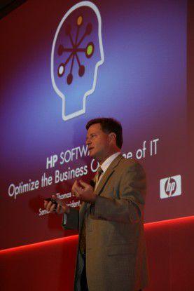 Tom Hogan, Chef der HP-Softwaresparte, erklärte auf der Kundenveranstaltung Software Universe Ende November in Barcelona, dass sein Unternehmen zur Nummer sechs im weltweiten Softwaremarkt aufgestiegen ist.