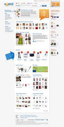 Smatch.com-Besucher sollen gezielt nach Produkten suchen, aber auch spontan stöbern und Angebote kommentieren können.