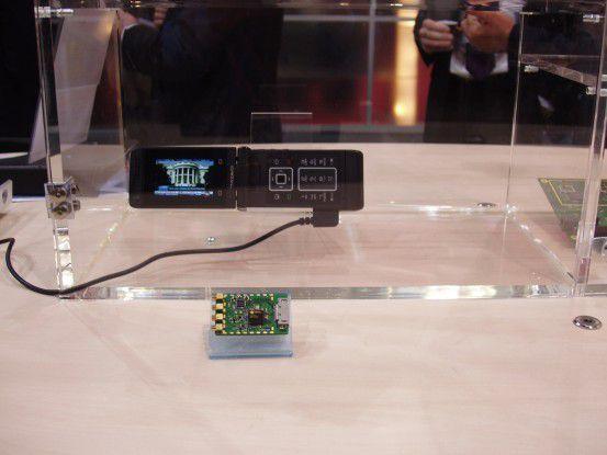 Ein Chip für Handy-TV via DVB-SH von Dibcom.