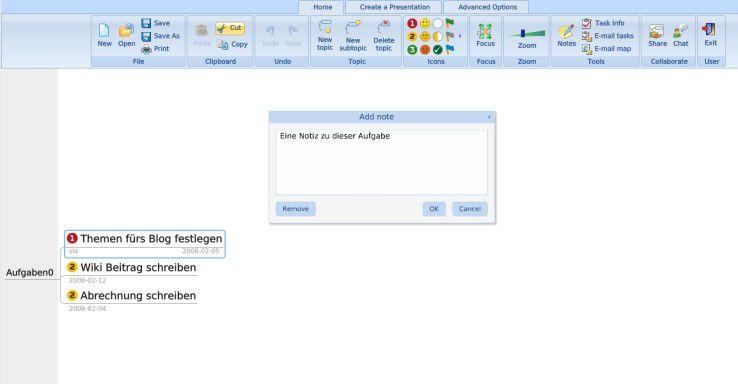 Comapping orientiert sich optisch an Microsoft Office 2007