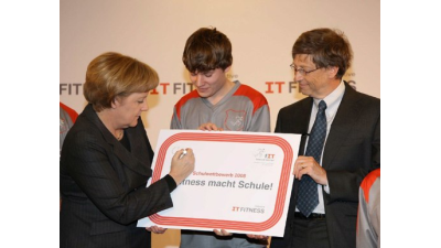 Am Wochenende geht´s auf den IT-Fitness-Campus: CeBIT: IT-Fitness in Halle 16 - Foto: IT-Fitness-Initiative