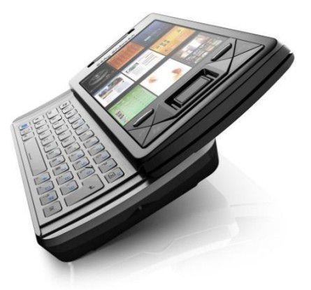 Das Xperia X1 mit Windows-Mobile-Betriebssystem.