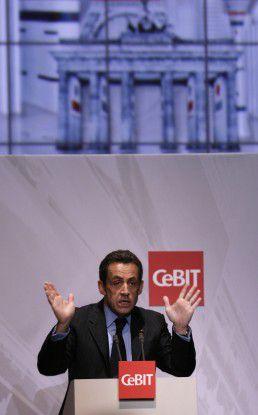 Nicolas Sarkozy lobte die französische Industriepolitik