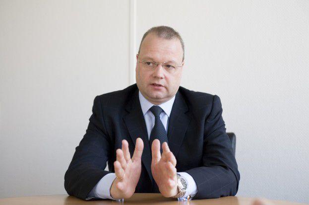 Jens-Uwe Holz, Geschäftsführer EDS Deutschland: Services müssen nicht dort erbracht werden, wo sie genutzt werden.