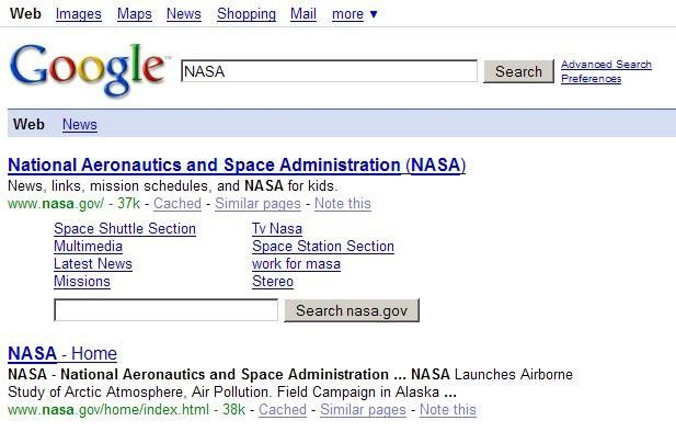 Suche in der Suche: Die großen Search Engines möchten Besucher länger auf ihre Seiten halten.