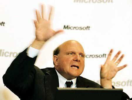 Microsoft Chef Balmer verpricht viel. Man wird sehen, ob Windows 7 die Erwartungen auch erfüllen kann.