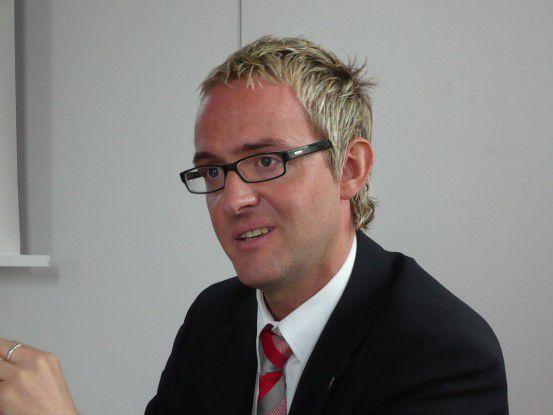 Alexander Wehrle, Referent Vorstand beim VfB Stuttgart.