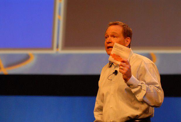 Bob Muglia auf dem im Mai 2008 abgehaltenen Microsoft Management Summit in Las Vegas.