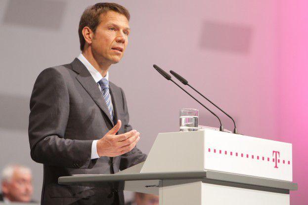 René Obermann auf der Hauptversammlung der Deutschen Telekom 2008