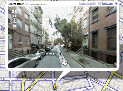 Google Street View hält die Ermittlungsbehörden auf Trab.