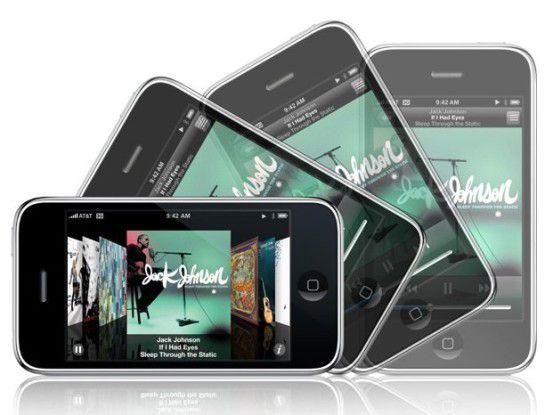 Äußerlich kaum verändert: Das Apple iPhone 3G