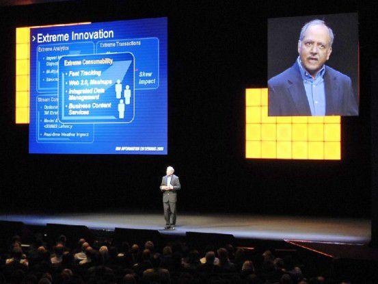 Auf der Veranstaltung Information on Demand betont IBM General Manager Ambuj Goyal, dass die eigene ECM-Plattform für extreme Anforderungen ausgelegt sei.
