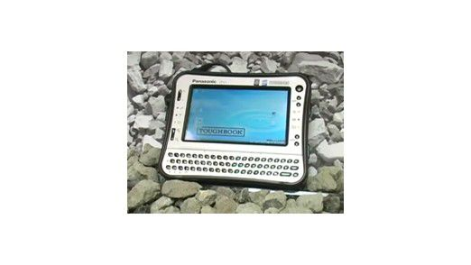 Ein Rechner fürs Grobe: Panasonic Toughbook (Foto: Panasonic)