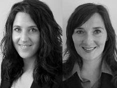 Myra Mac Links und Tatjana Goricki (rechts) von der PSD Group beantworten Leseranfragen zur IT-Karriere.