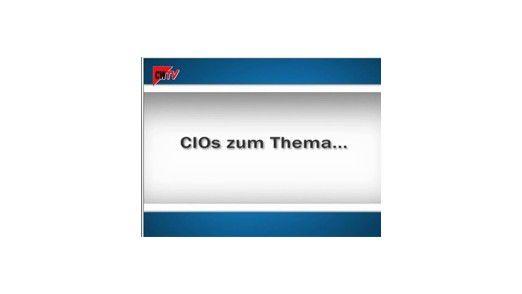 """CW-TV: Was CIOs vom Thema """"Green IT"""" halten."""