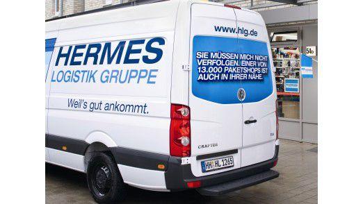 Unter der Marke Hermes operieren zwölf Gesellschaften, am bekanntesten ist der Paketdienst.