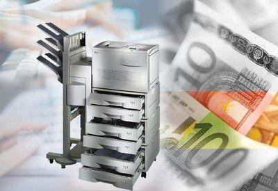 Druckkosten machen rund sechs Prozent des Umsatzes aus, hat Lexmark ausgerechnet. Ein guter Grund, über diese Ausgaben nachzudenken, findet der Druckerhersteller.